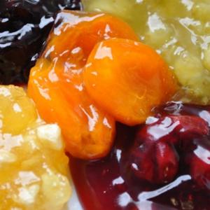Начинка с.в. 50-63% с кусочками, фруктов и ягод 30-40%